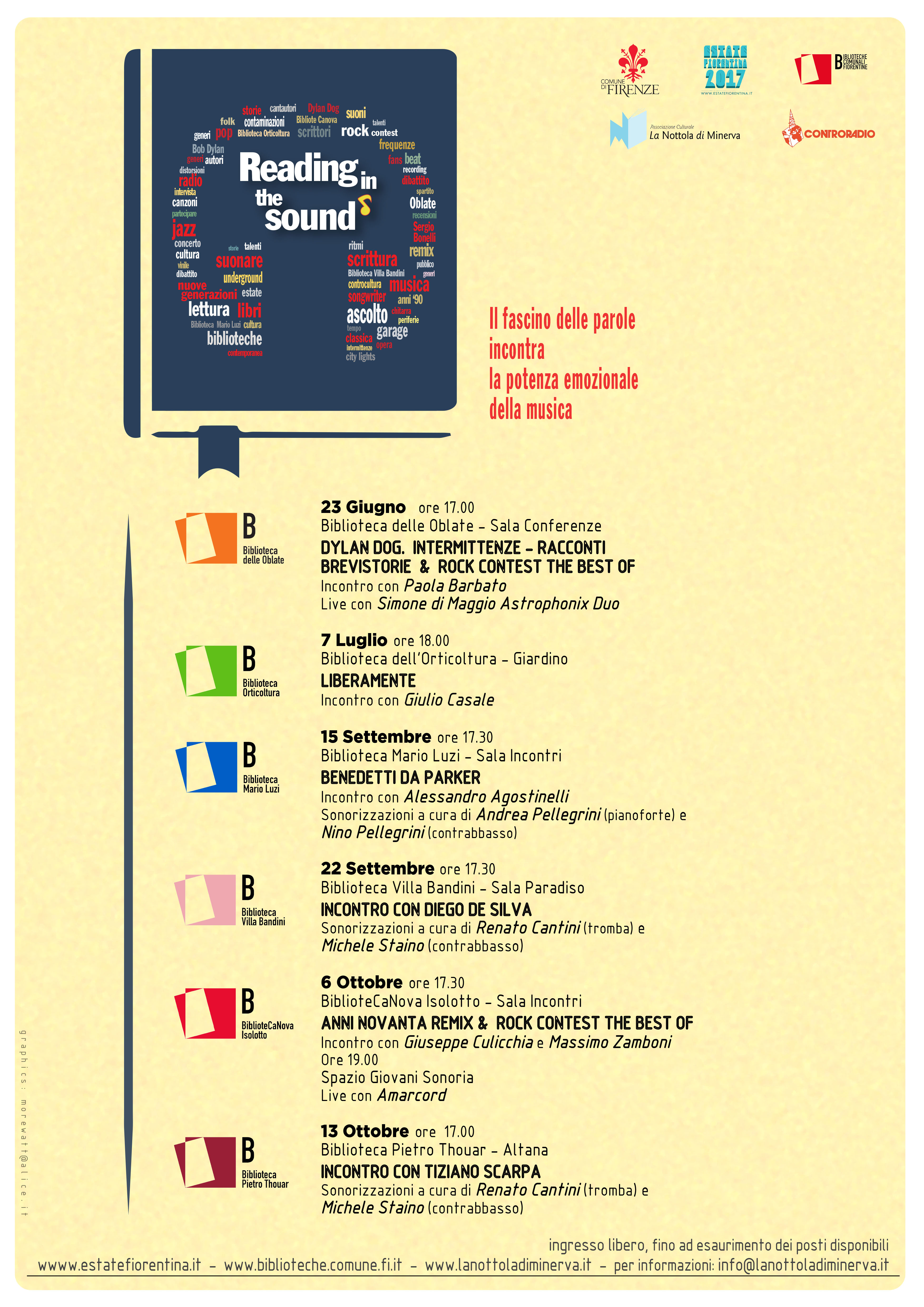 reading in the sound a3 versione 2