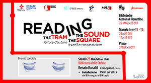 Reading in the Sound – in the Tram – in the Square