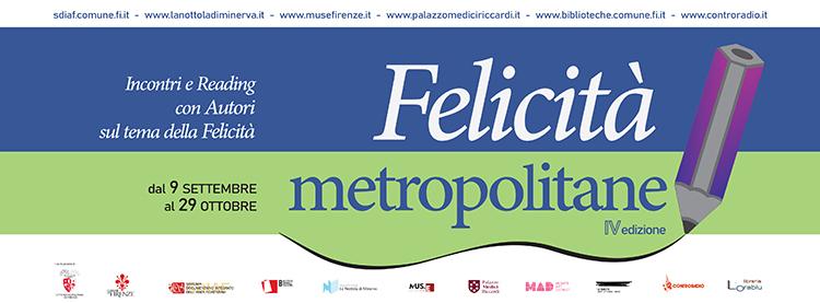 Felicità metropolitane 2020 Banner con siti